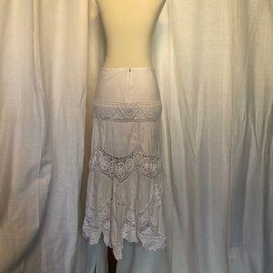BCBG Max Azria cotton lace skirt